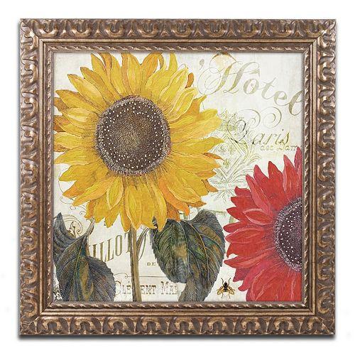 Trademark Fine Art Sundresses I Ornate Framed Wall Art