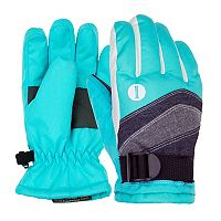 Girls 4-16 Igloos Colorblocked Ski Gloves
