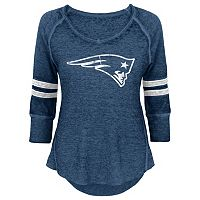 Juniors' New England Patriots Thermal Tee