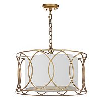 Safavieh Silas Gold Finish Pendant Lamp