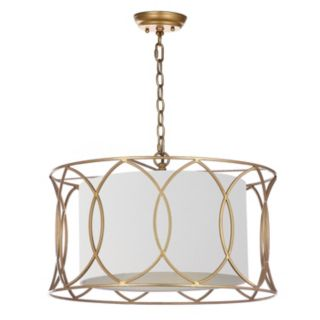Safavieh Silas Gold Finish Pendant Lamp