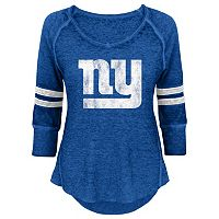 Juniors' New York Giants Thermal Tee