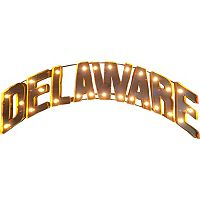 Delaware Blue Hens Light-Up Wall Décor