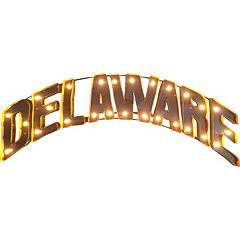 Delaware Blue Hens Light-Up Wall Décor