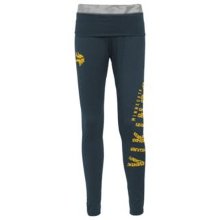 Juniors' Minnesota Vikings Elastic Heart Leggings