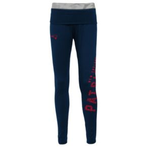Juniors' New England Patriots Elastic Heart Leggings