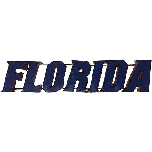 Florida Gators Metal Wall Décor