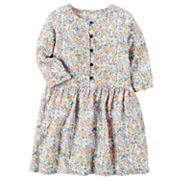 Toddler Girl Carter's Floral Dress