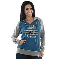 Women's Majestic Los Angeles Rams Football Hoodie