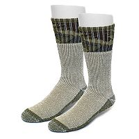 Men's Croft & Barrow® 2-pack Camo Crew Socks