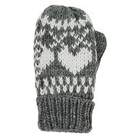Girls 4-6x Igloos Heart Fairisle Mittens