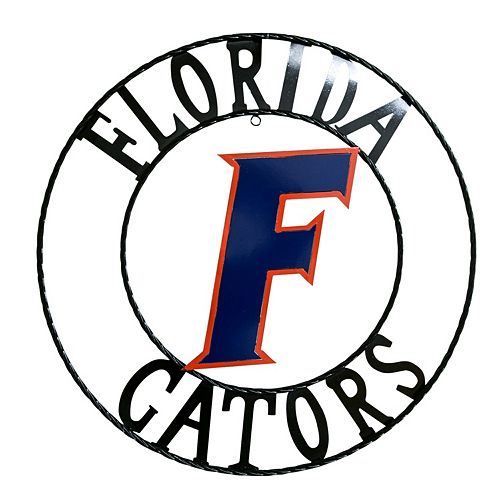 Florida Gators 18-Inch Wrought Iron Wall Décor