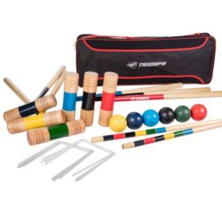 Triumph Premier 6 Player Croquet Set