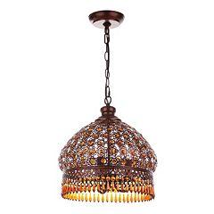 Safavieh Jeweled 3-Light Pendant Lamp