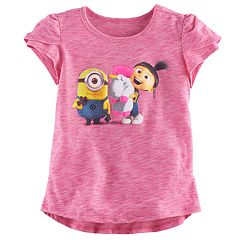Toddler Girl Jumping Beans® Minions Kevin & Agnes Graphic Tee