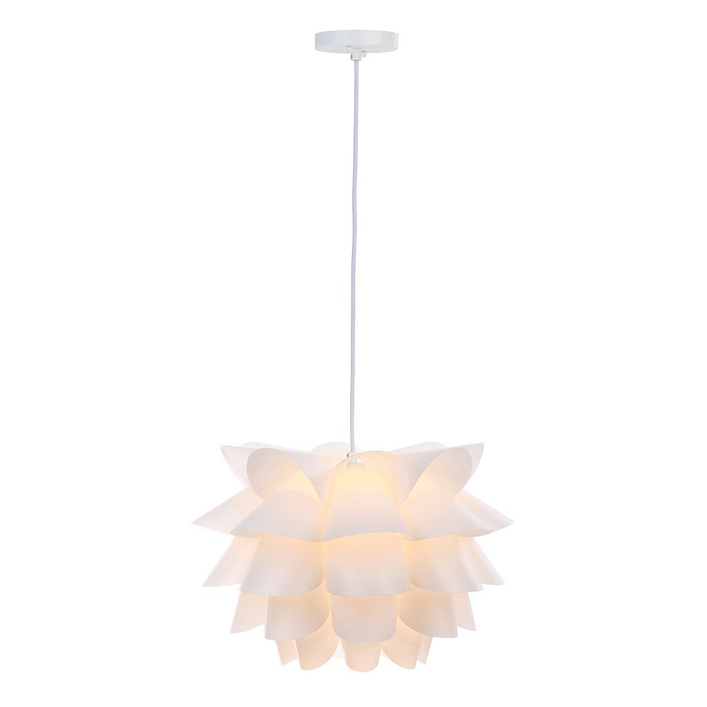 Safavieh Contemporary White Pendant Light