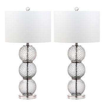 Safavieh Port Table Lamp 2-piece Set