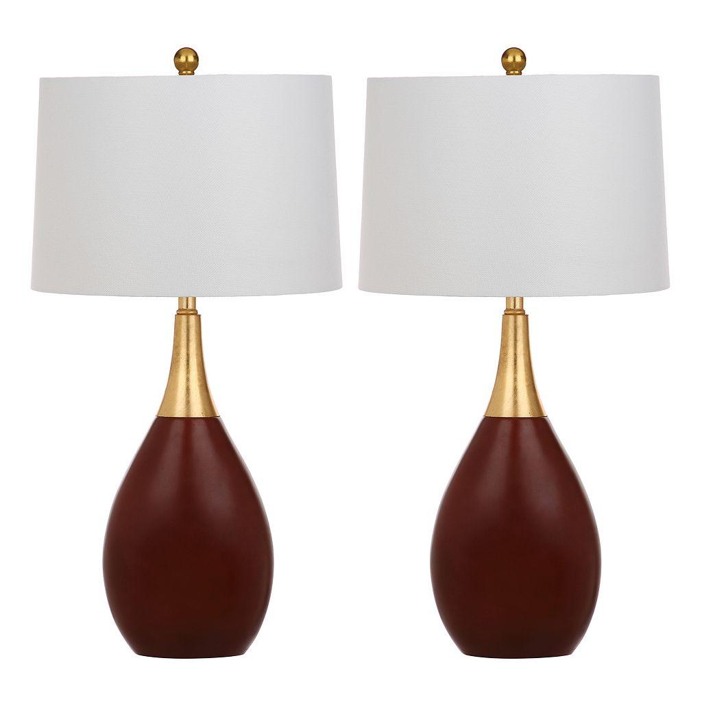 Safavieh Medallion Table Lamp 2-piece Set