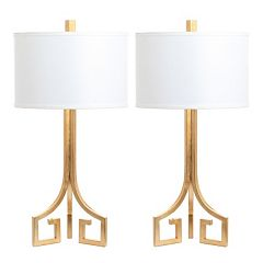 Safavieh Arabelle Gold Finish Table Lamp 2-piece Set