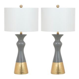 Safavieh Iris Table Lamp 2-piece Set