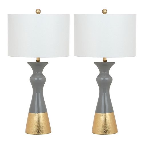 Safavieh Iris Table Lamp 2-piece Set