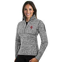 Women's Antigua Houston Rockets Fortune Pullover