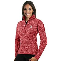 Women's Antigua Houston Rockets Fortune Pullover
