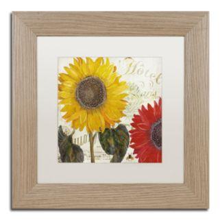 Trademark Fine Art Sundresses I Washed Finish Framed Wall Art
