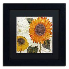 Trademark Fine Art Sundresses II Black Framed Wall Art