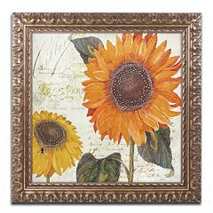 Trademark Fine Art Sundresses II Ornate Framed Wall Art