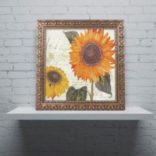 Trademark Fine Art Sundresses II Ornate Framed Wall Art