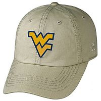 Adult Top of the World West Virginia Mountaineers Crew Adjustable Cap