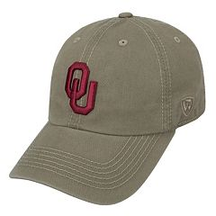 Adult Top of the World Oklahoma Sooners Crew Adjustable Cap
