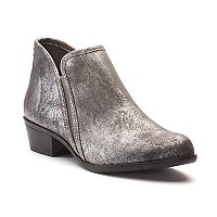 SO® Meme Women's Block Heel Ankle Boots