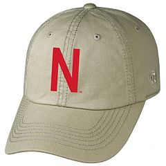 Adult Top of the World Nebraska Cornhuskers Crew Adjustable Cap
