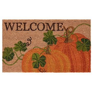 Mohawk® Home Woodcut Harvest ''Welcome'' Coir Doormat - 18'' x 30''