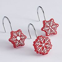 St. Nicholas Square® Snowflake Shower Curtain Hooks