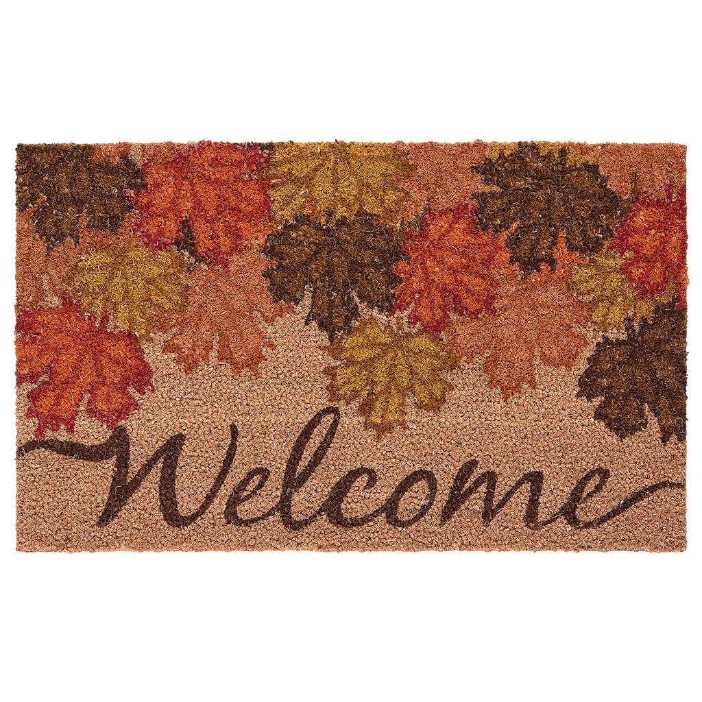 Mohawk® Home Fall Canopy ''Welcome'' Coir Doormat - 18'' x 30''