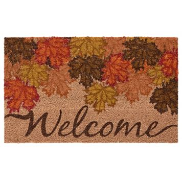 Mohawk® Home Fall Canopy ''Welcome'' Coir Doormat - 18'' x 30''