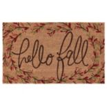 Mohawk® Home ''Hello Fall'' Branches Coir Doormat - 18'' x 30''
