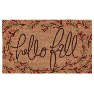 Mohawk® Home ''Hello Fall'' Branches Coir Doormat - 18'' x 30''