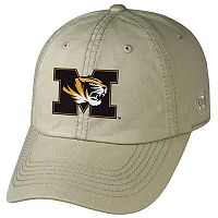 Adult Top of the World Missouri Tigers Crew Adjustable Cap