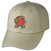 Adult Top of the World Maryland Terrapins Crew Adjustable Cap
