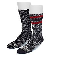 Men's Croft & Barrow® 2-pack Slubbed Wool-Blend Boot Socks