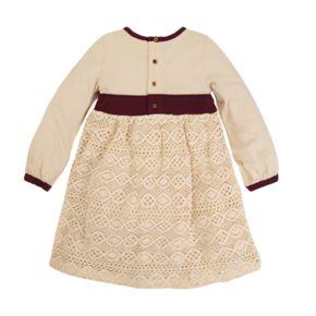 Toddler Girl Burt's Bees Baby Crochet Skirt Dress