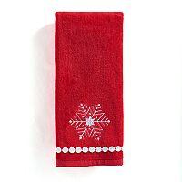 St. Nicholas Square® Christmas Traditions Snowflake Hand Towel