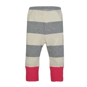 Baby Girl Burt's Bees Baby Striped Pants