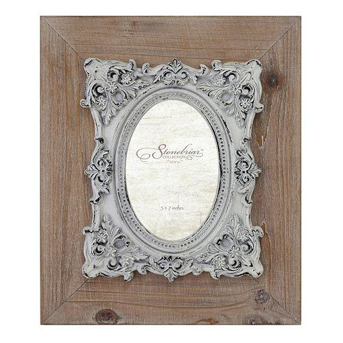 "Stonebriar Collection Baroque 5"" x 7"" Frame"