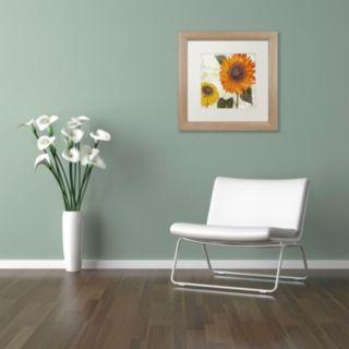Trademark Fine Art Sundresses II Washed Finish Framed Wall Art