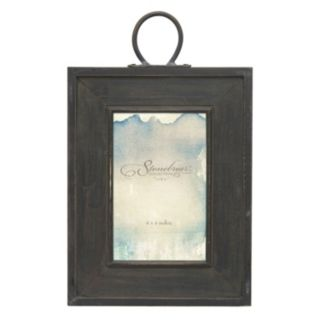 """Stonebriar Collection Rustic Industrial 4"""" x 6"""" Frame"""